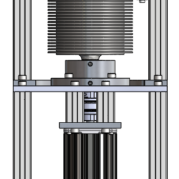Chiral separator drawing by NOVO Engineering