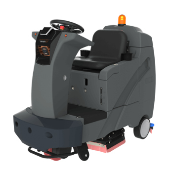 Autonomous commercial floor cleaner